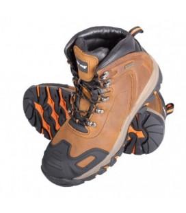 Darbo batai odiniai rudi O2 SRA ,CE,LAHTI