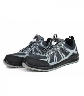 Darbo batai guminiai/medžiag. pilkai-juodi.,S1 SRC ,CE,LAHTI