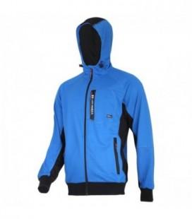 Džemperis su gaubtu mėlynai-juodas, CE,LAHTI