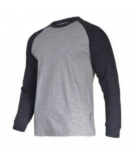 Marškinėliai su ilgomis rank. pilkai-juodi 190g, CE,LAHTI