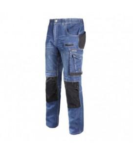 Kelnės džinsinės su sutvirtinimais CE,LAHTI