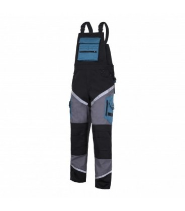 Kelnės su petnešom su atsp.juost.,CE,LAHTI