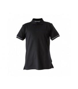 Marškinėliai polo juodi 220g, CE,LAHTI