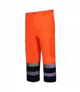 Kelnės gero matom.oranžinės pašilt. CE,LAHTI