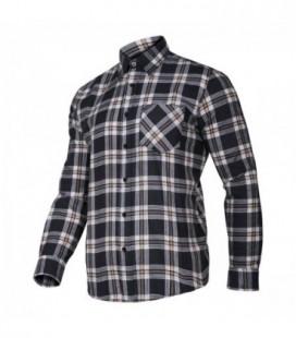 Marškiniai flaneliniai  mėlyni,CE,LAHTI PRO