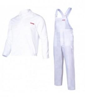 Kelnės ir švarkas balti ,CE,LAHTI QUEST