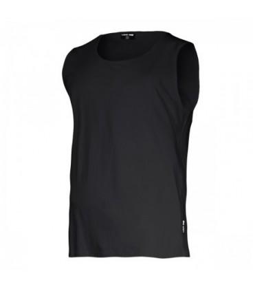 Marškinėliai be rankovių juodi 160g,CE,LAHTI