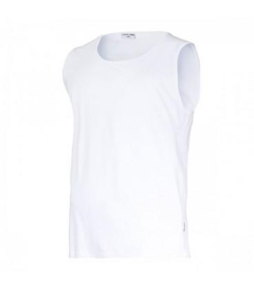 Marškinėliai be rankovių balti 160g,CE,LAHTI