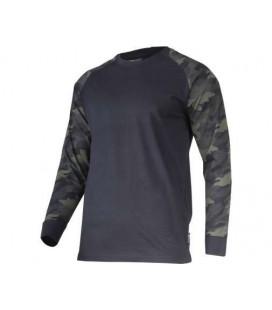 Marškinėliai su ilgomis rank. kamufliažiniai 190g,CE,LAHTI