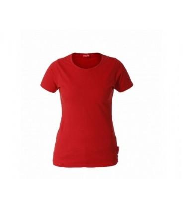 Marškinėliai raudoni mot.180g, CE,LAHTI