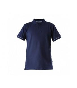 Marškinėliai polo t.mėlyni 220g, CE,LAHTI