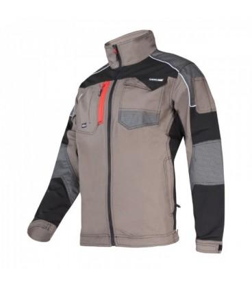 Švarkas khaki-juodas su tampraus aud.įsiuvais CE,LAHTI