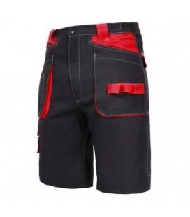 Darbo šortai juodai-raudoni CE,LAHTI