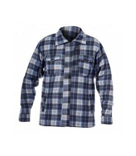Marškinėliai pašiltinti pilkai-mėlyni ,CE,LAHTI