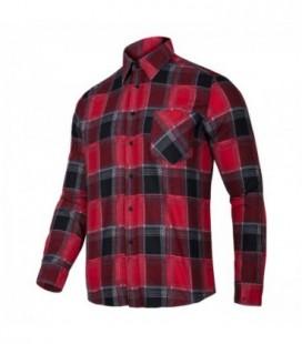 Marškiniai flaneliniai raudoni CE,LAHTI PRO
