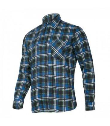 Marškiniai flaneliniai mėlyni, CE,LAHTI PRO