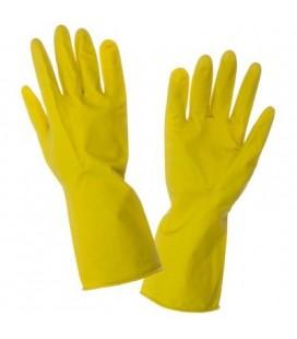 Pirštinės apsaug.lateks.geltoni ,CE,LAHTI