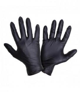Pirštinės vienkartinės nitr.juodos , 100vnt,CE,LAHTI