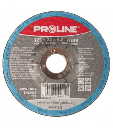 Diskas metalui šlifuoti T27  A24R PROLINE